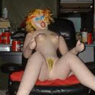 People having sex with blow up dolls