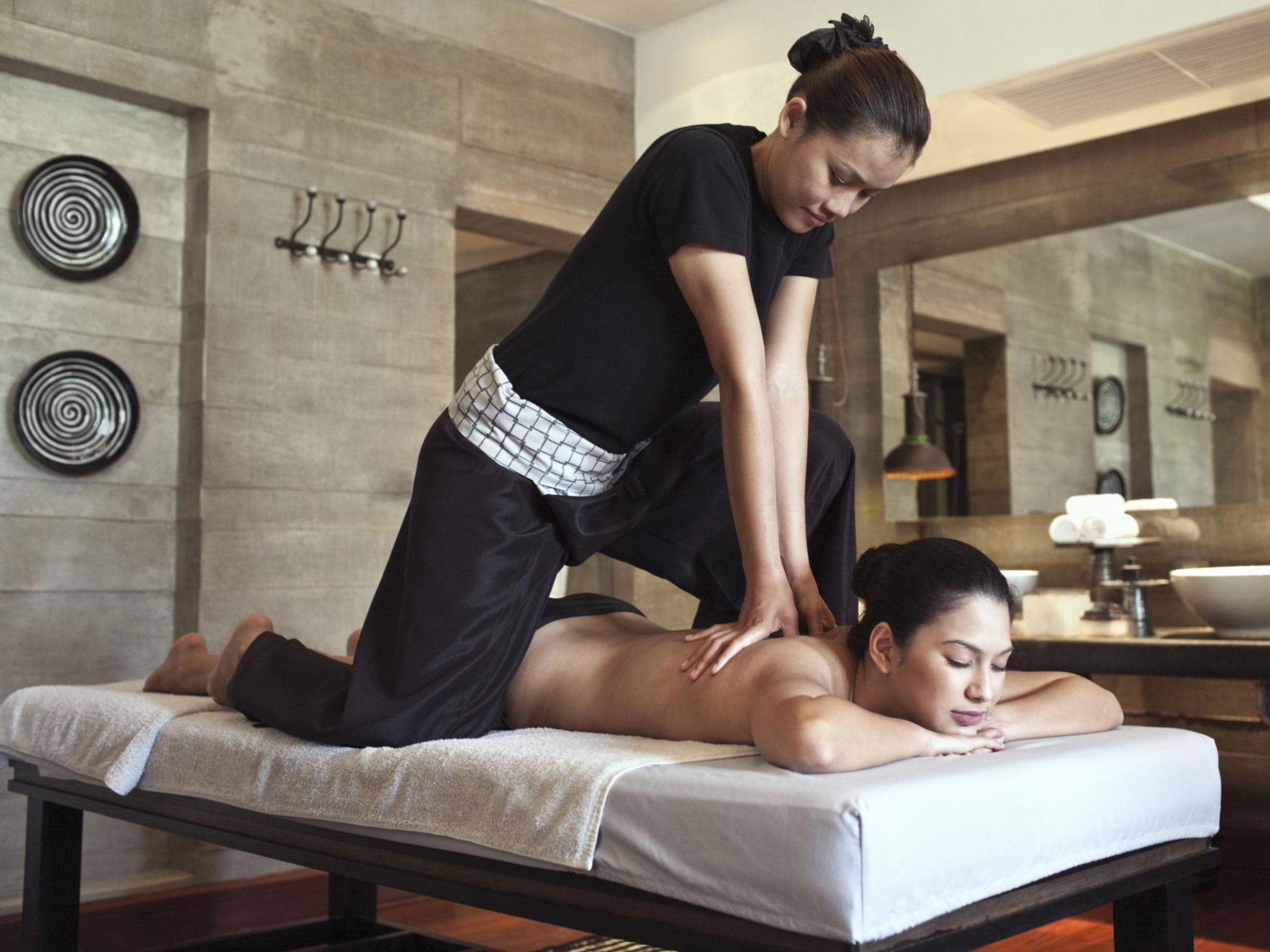 Asian massage and los angeles and adult