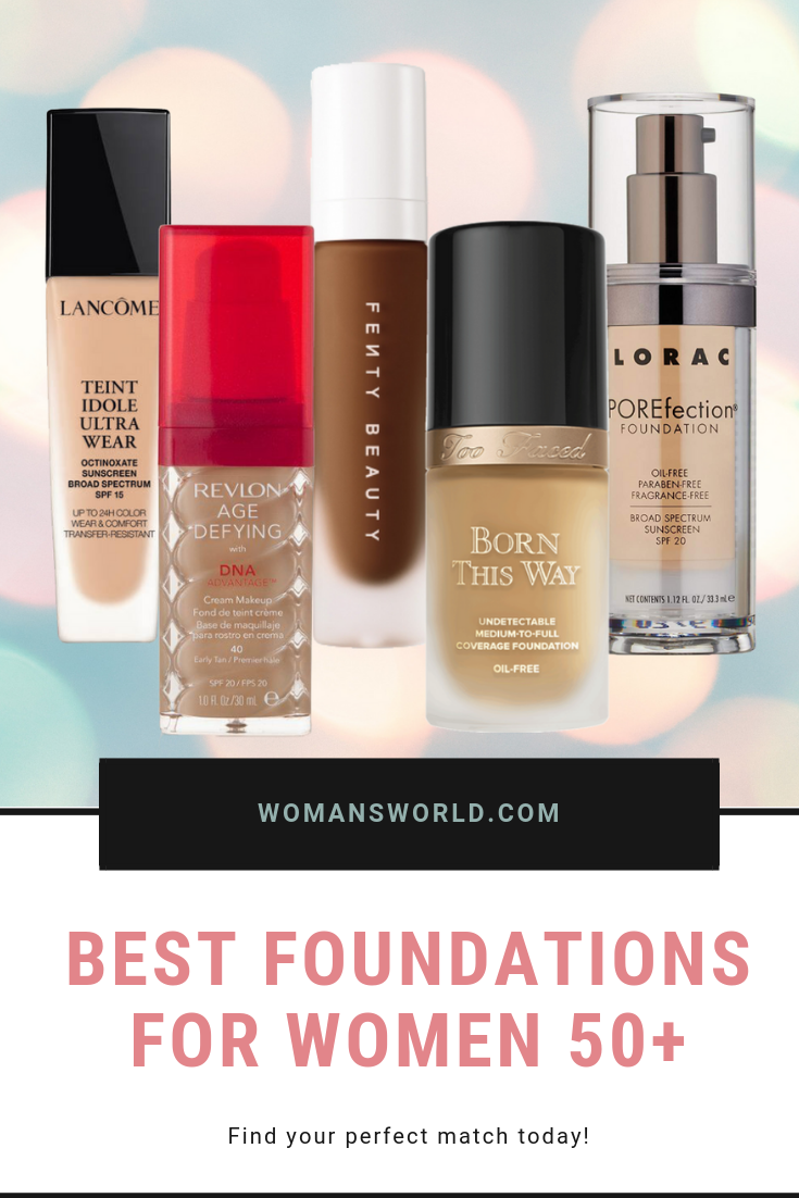 Best type of foundation for mature skin