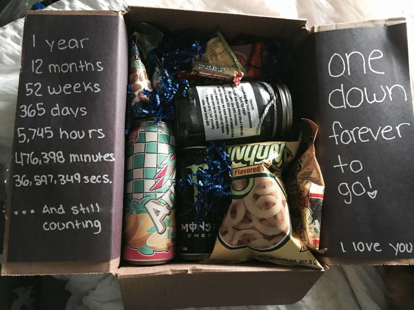 One year dating anniversary gifts for boyfriend