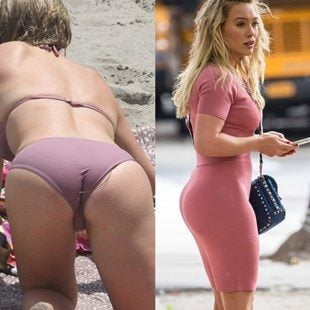What is hilary duff s pussy like