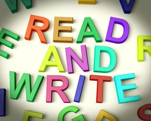 Learning to read and write for adults