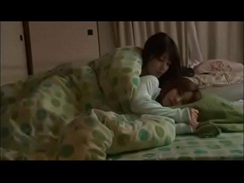 Sologirl sweet asya lesbian kissing on bed