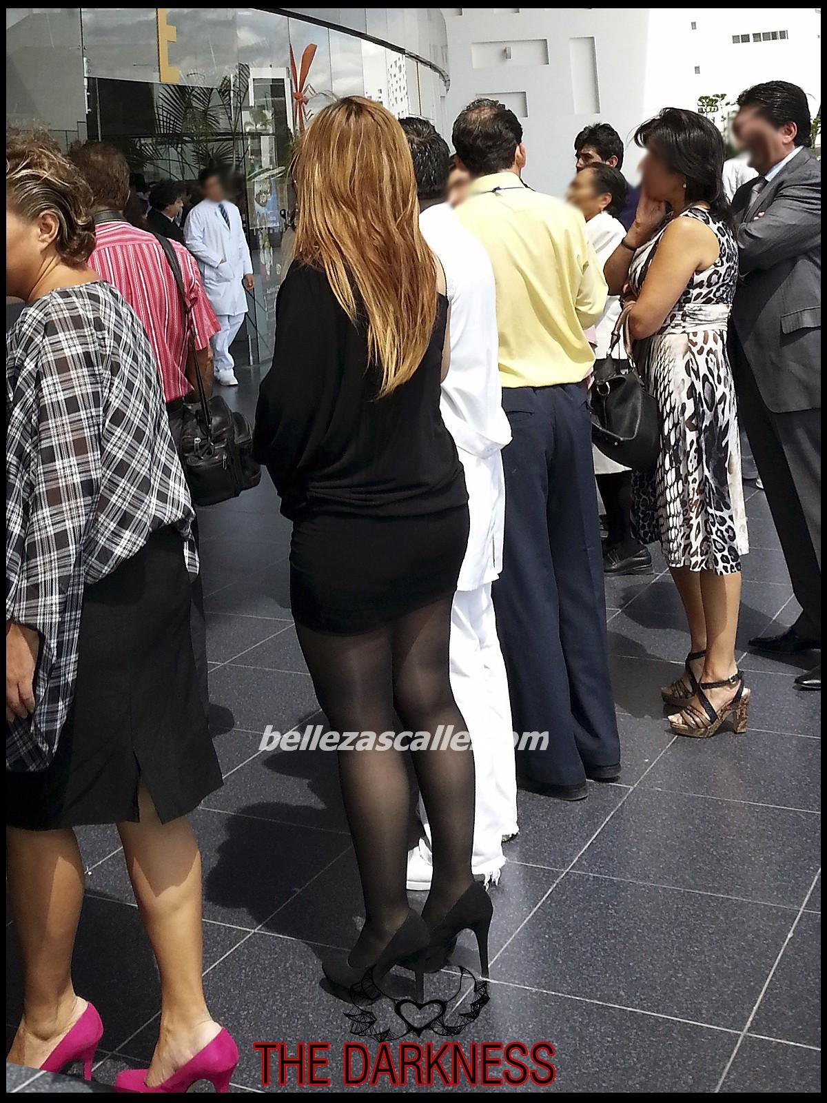 Mujeres en vestido de bag o diminutos