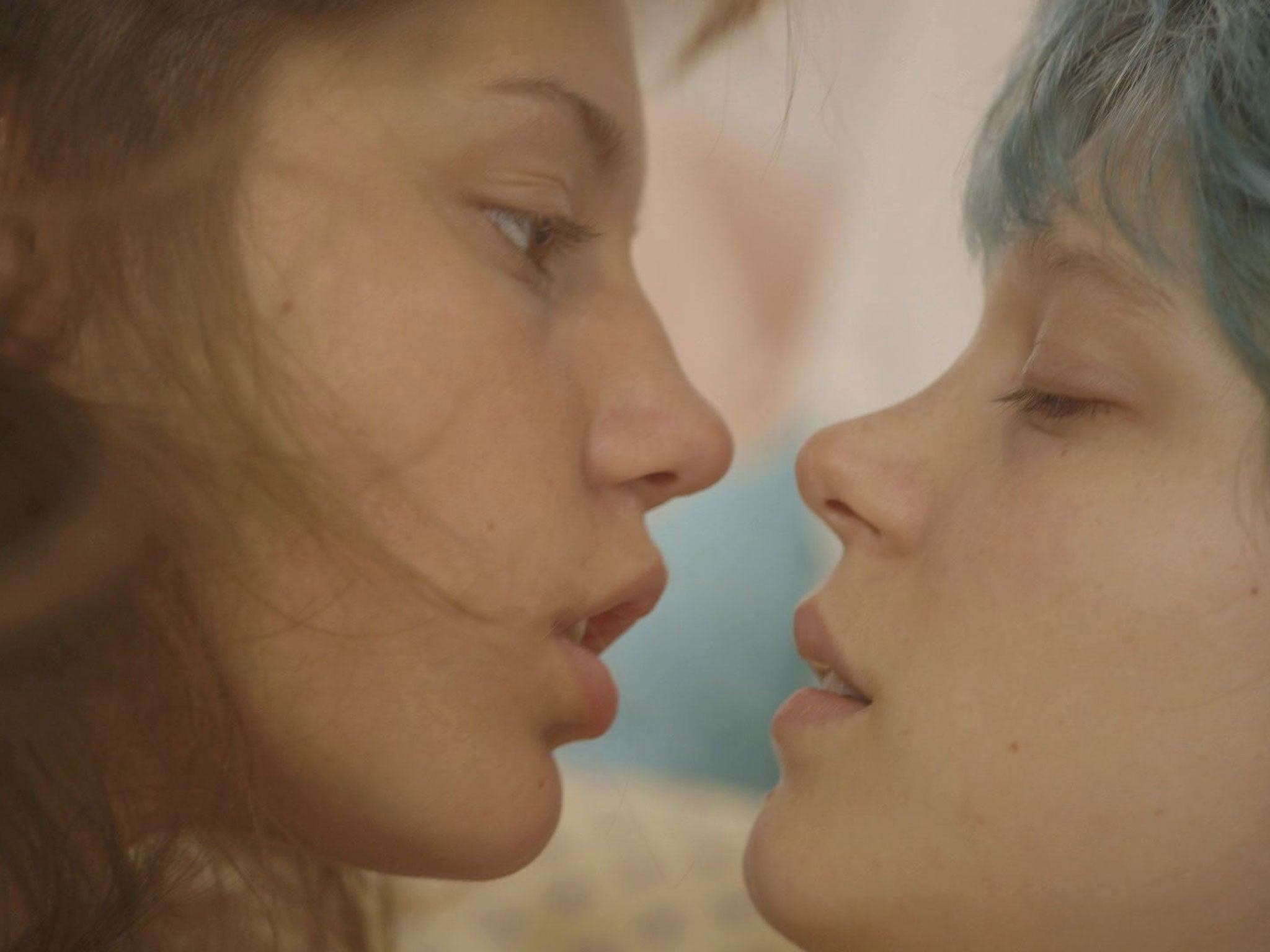 Blue is the warmest colour lesbian scene