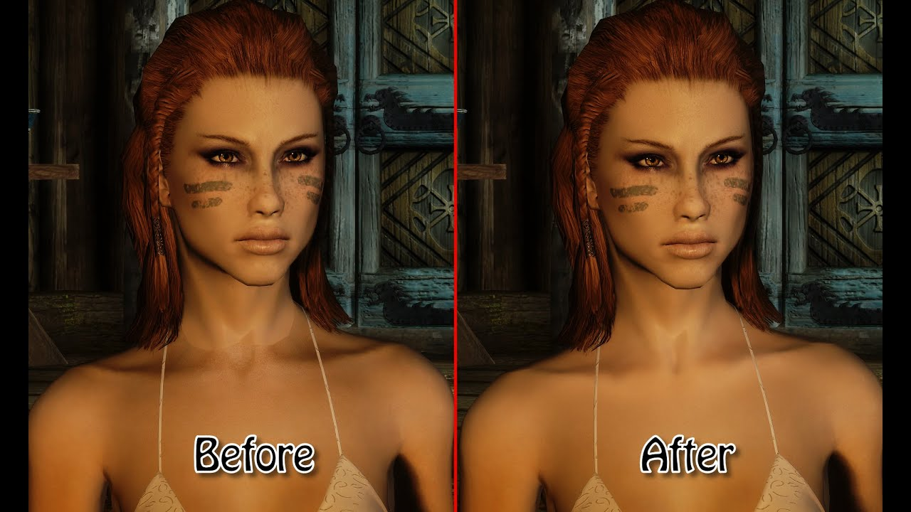 Mature skin texture and body for unp