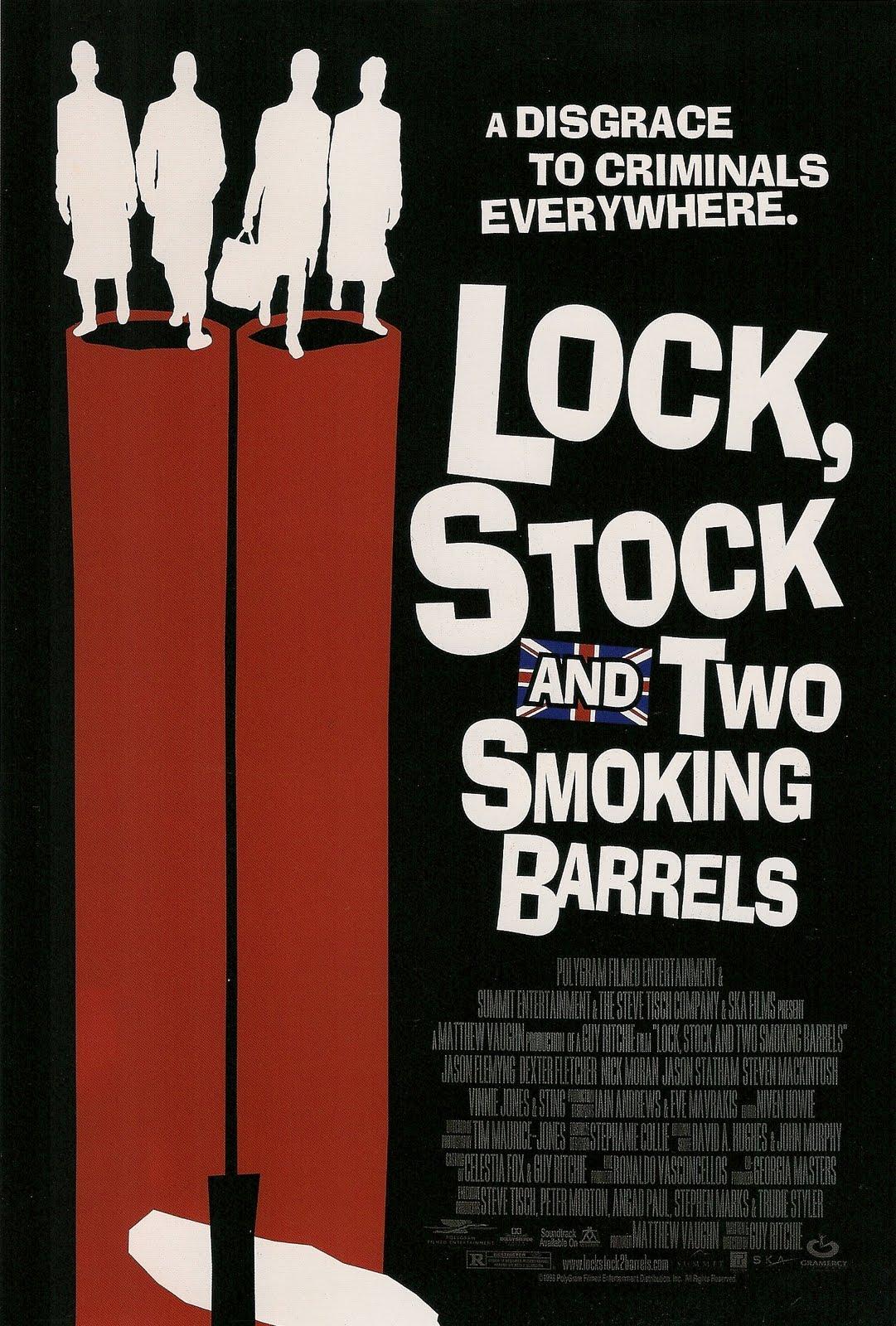Lock stock and two smoking barrels dildo