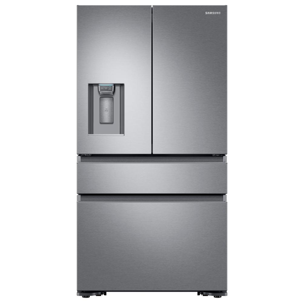 Counter depth bottom freezer french door refrigerator