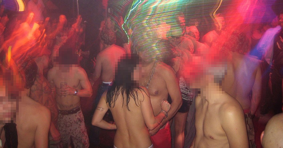 Group sex orgy after mind night party