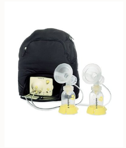 Natural transitions double electric battery breast pump