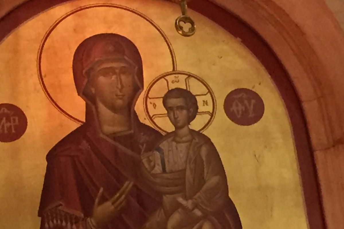 The virgin mary about the orthodox church