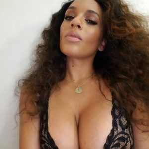 Skinny women big fake tits giving blowjobs