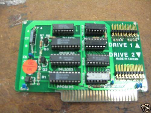Vintage floppy disk drive controllers adapter cards