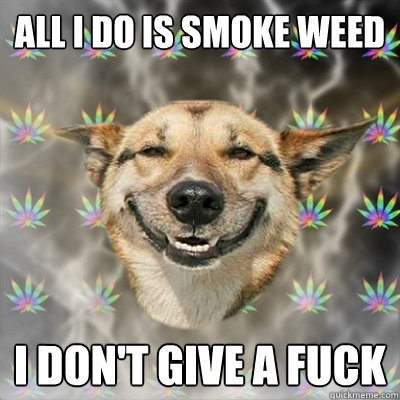 Smoke weed i dont give a fuck