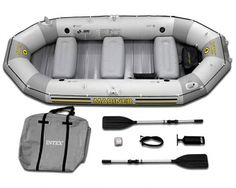 North pic explore inflatable hard bottom boat
