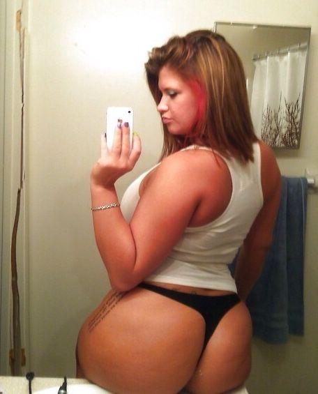Bbw redhead big phat ass booty milf