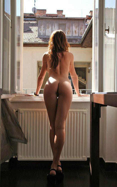 Pictures of naked girls in window porn