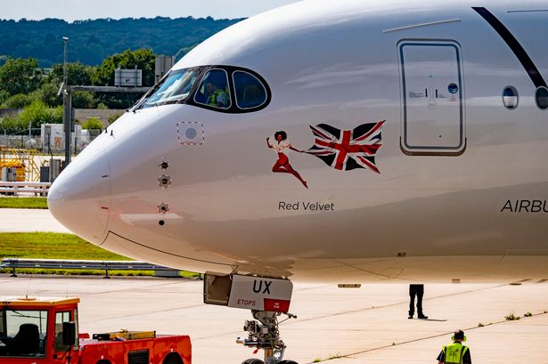 Airline airway atlantic code iata uk virgin