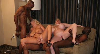Claudia marie kayla kleevage interracial gang bang