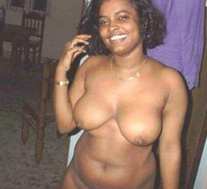 Threesome with pretty curly haired ebony girl