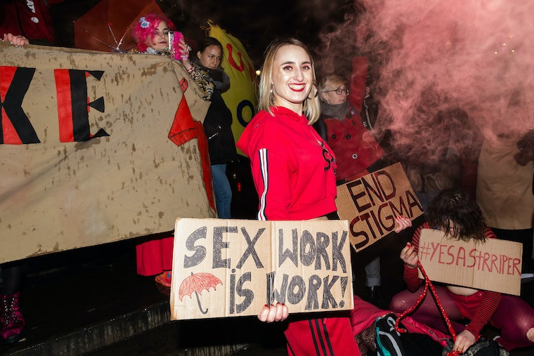 I want to become a sex worker