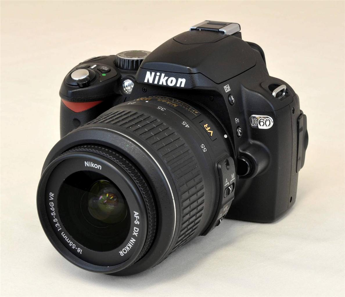 Nikon d60 kit af s dx vr