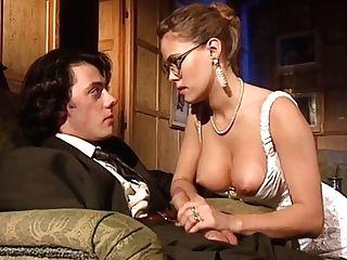 Blonde blowjob dp rimming vintage stockings porn