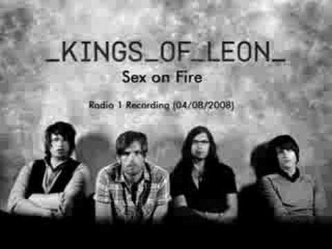 Kings of leon sexes on fire youtube