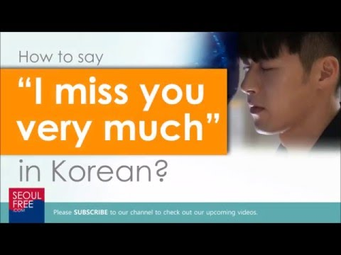 How to say so what in korean