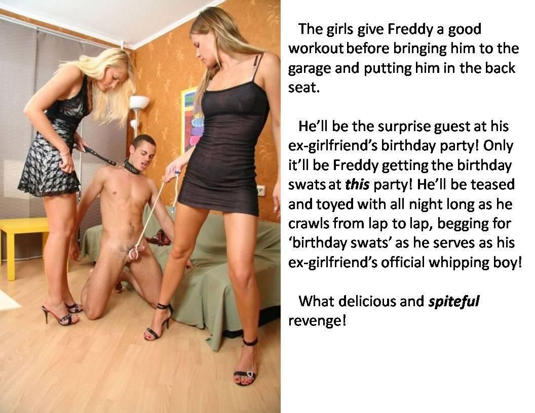 Femdom story he s good for something