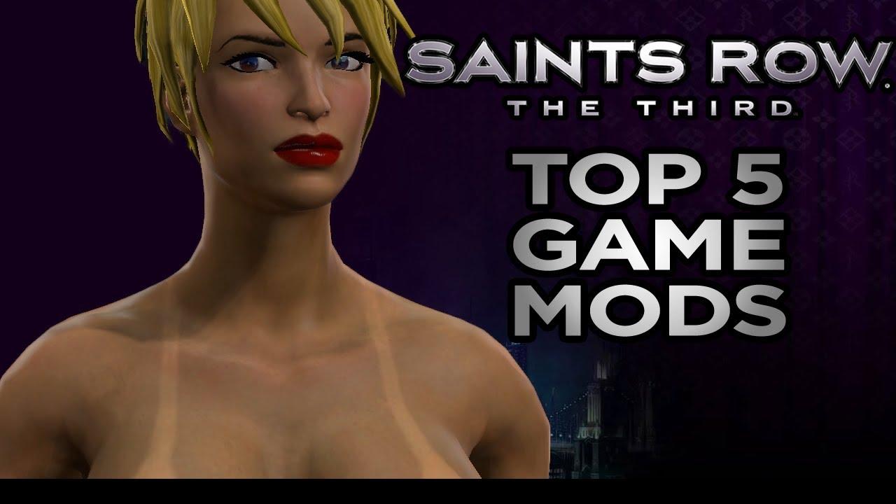 Saints row the third mod nude mods