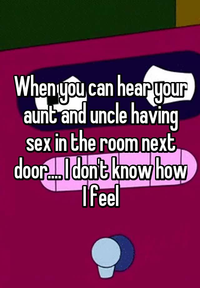 How to have sex with your aunt