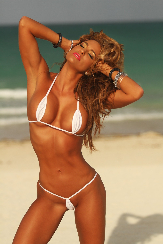 Barely string bikini string bikini bikini dare