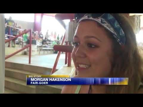 Couple having sex at wisconsin state fair