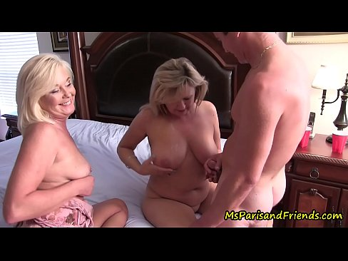 Mom and aunt seduce me into threesome