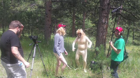 Behind the scenes of naked and afraid