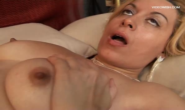 Her eyes roll back when she cums