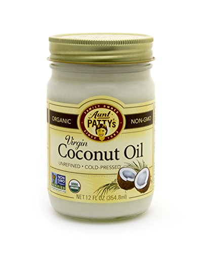 Aunt patty s extra virgin coconut oil