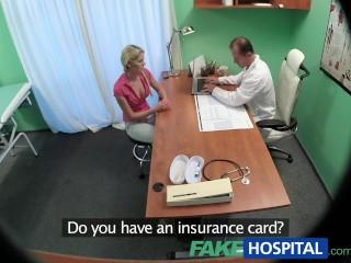 Fake hospital fakehub technician paid with blowjob