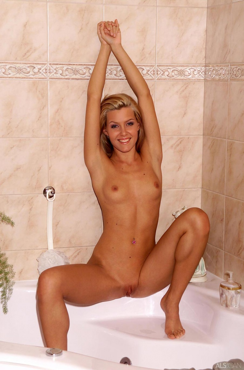 Hot and sexy girls in the shower