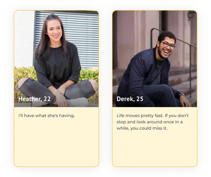 Writing a personal profile for dating examples