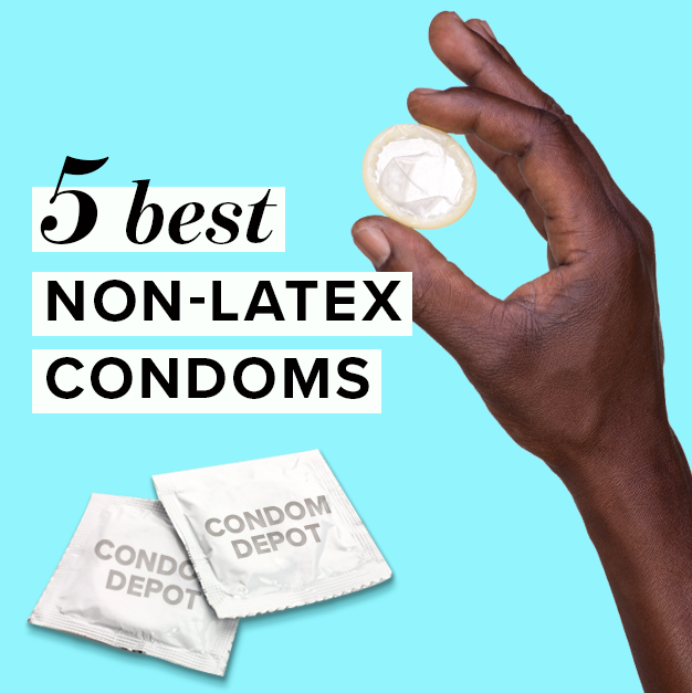 Allergic reaction to latex condoms for women