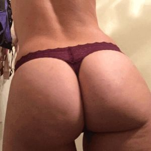 Crossdressing sissy hubby gives blowjob for wife