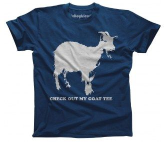Pictures of sexy men with goat tees