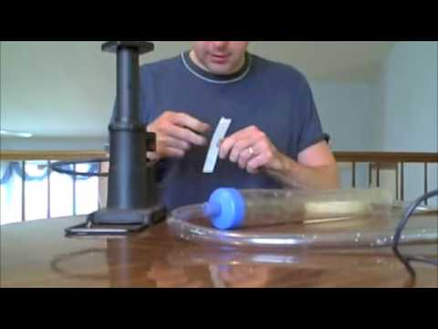 How to make a homemade breast pump
