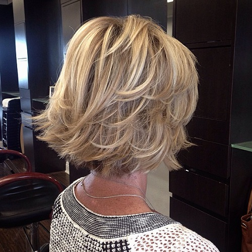 Easy haircuts for mature women thin hair