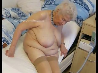 Old wrinkly women mmf threesome abuse porn