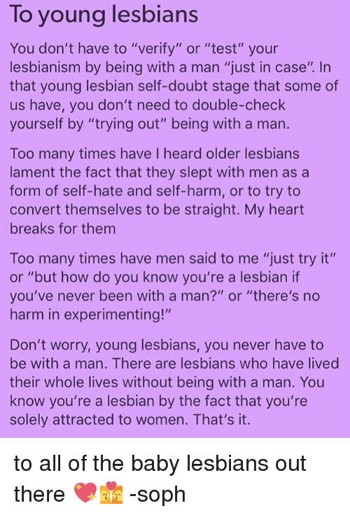 How to know you are a lesbian