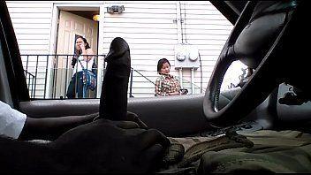 Wife in car sucking black cock tumblr
