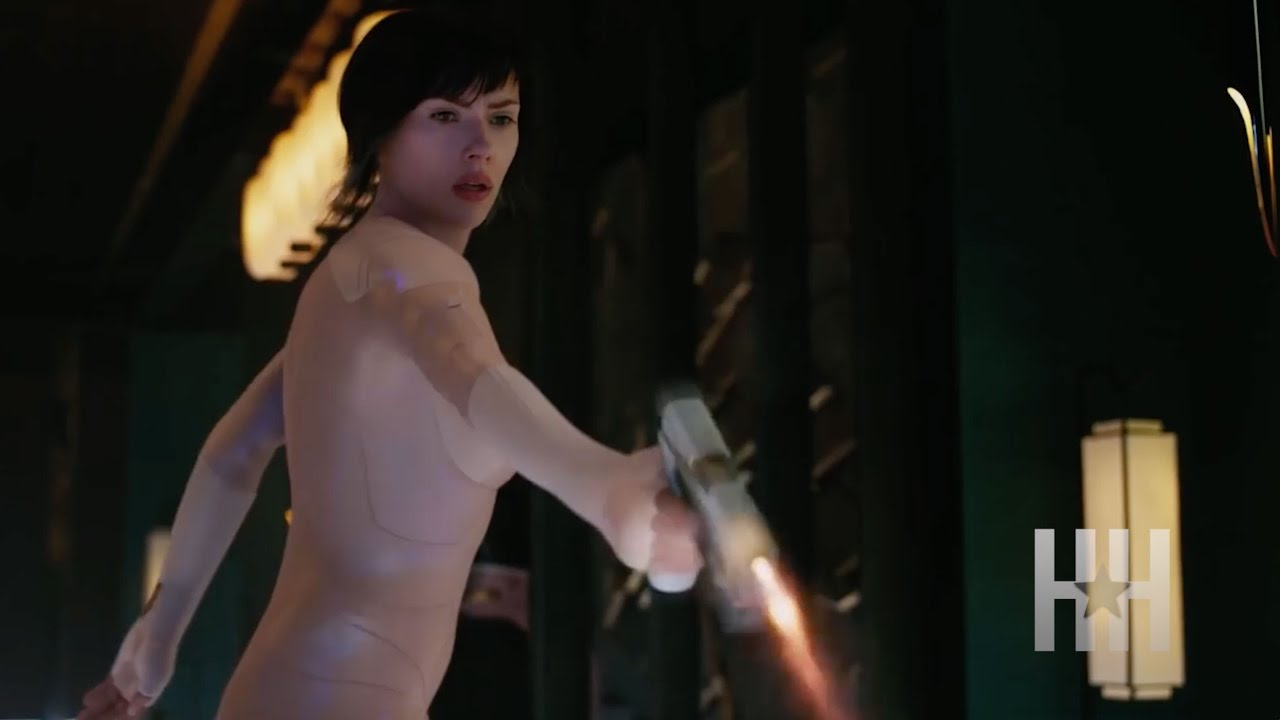 Scarlett johansson ghost in the shell nude